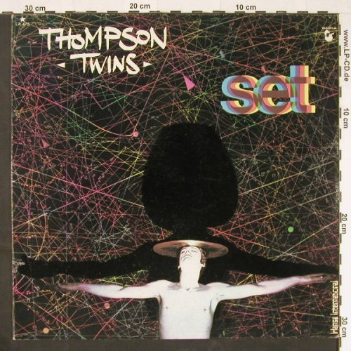 Thompson Twins: Set, Hansa(LA-470), Mexico, 1982 - LP - E273 - 6,00 Euro