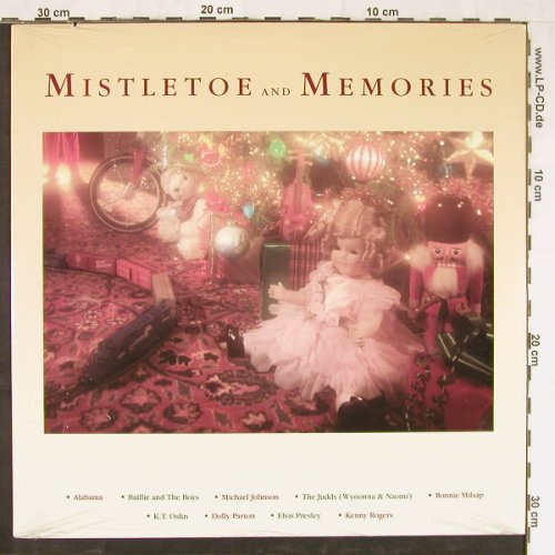 V.A.Mistletoe And Memories: u.a.Elvis Presley,D.Parton, FS-New, RCA(8372-1-R), US, 1988 - LP - E2791 - 9,00 Euro