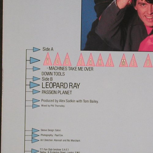 Thompson Twins: You Take Me Up+3, Arista(601 286), D, 1984 - 12inch - E2865 - 2,50 Euro