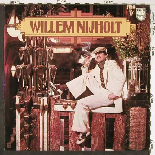 Nijholt,Willem: Same, Philips(6413 069), NL, 1975 - LP - E2890 - 4,00 Euro