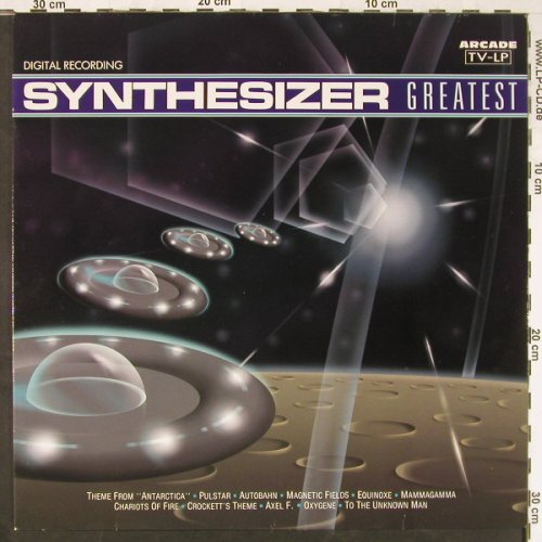 V.A.Synthesizer Greatest: 16 Tr., Arcade(01 3810 21), NL, 1989 - LP - E2899 - 5,00 Euro