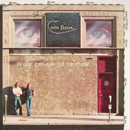 Cate Bros.: In One Eye And Out The Other, Asylum(AS 53 049), D, 1976 - LP - E2961 - 5,50 Euro