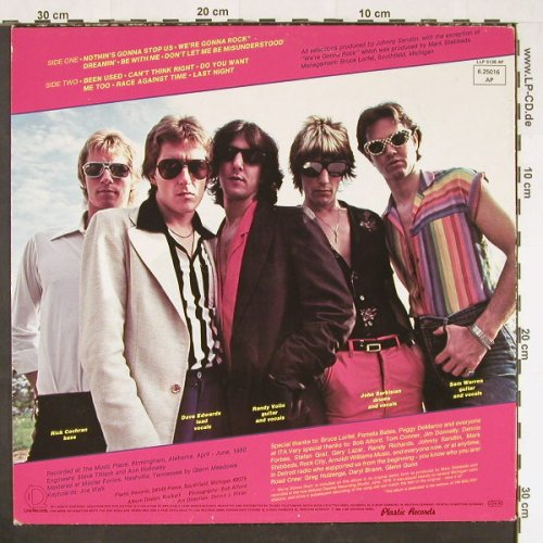 U.S.LOOK: We're Gonna Rock, Ri, m-/vg+, Line(6.25016 AP), D, 1982 - LP - E298 - 4,00 Euro