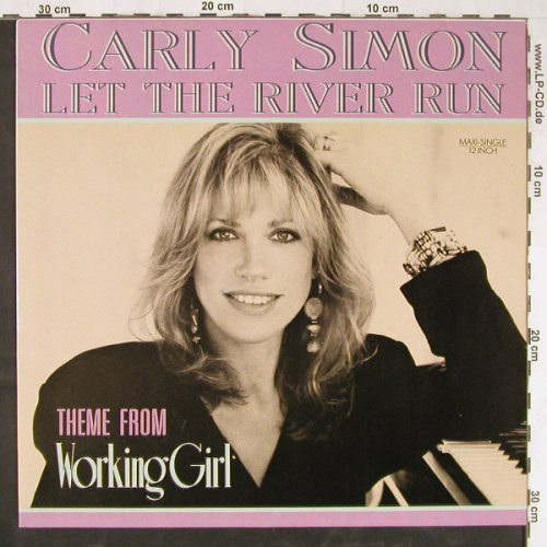 Simon,Carly: Let The River Run+2 (Working Girl), Arista(612124), D, 1989 - 12inch - E3007 - 3,00 Euro