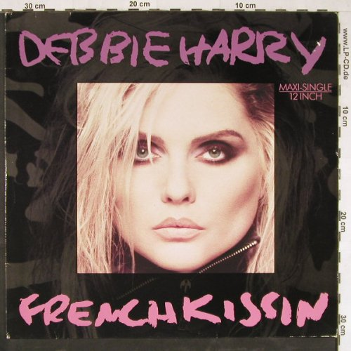 Harry,Debbie: Frenchkissin*2+1, Chrys.(608 585), D, 1986 - 12inch - E3037 - 2,50 Euro