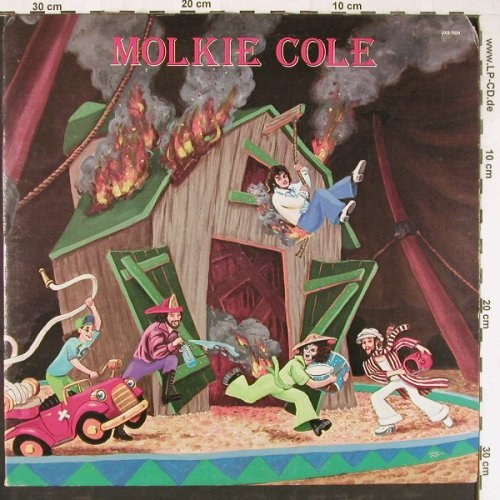 Molkie Cole: Same, Foc,co, Janus(JXS-7031), US, 1977 - LP - E3350 - 9,00 Euro