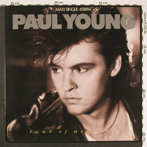 Young,Paul: Tomb Of Memories+3, CBS(A 12.6321), NL, 1985 - 12inch - E339 - 3,00 Euro