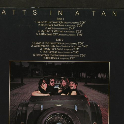 Dutch Diesel: Watts In A Tank, Metronome(0060.264), D, 1979 - LP - E3439 - 5,00 Euro
