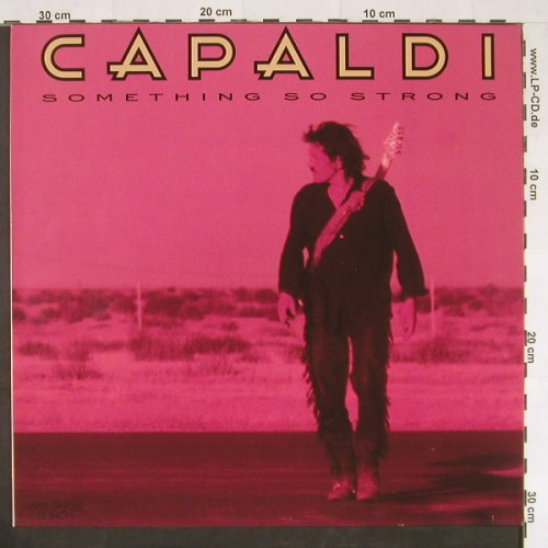 Capaldi,Jim: Something So Strong+2, Isl.(611 870), D, 1988 - 12inch - E344 - 2,50 Euro