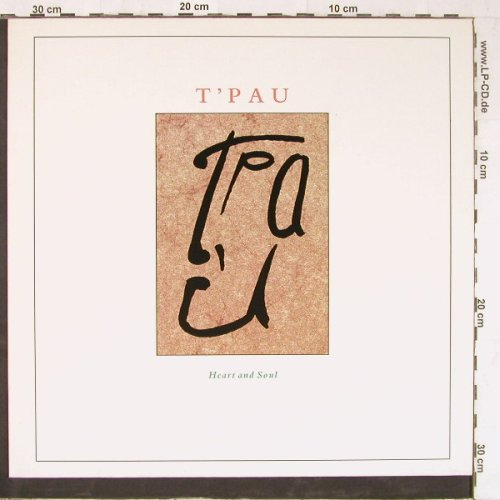 T'Pau: Heart and Soul+2, Virgin(609 187-213), D, 1987 - 12inch - E3470 - 2,00 Euro
