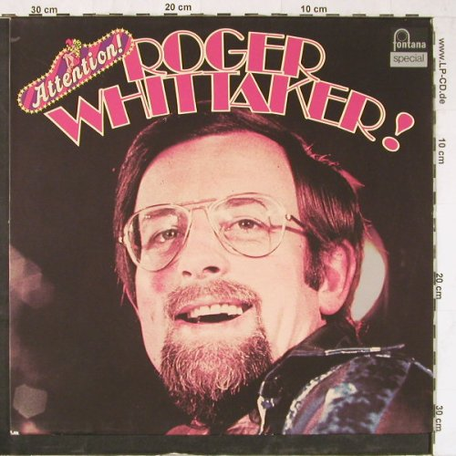 Whittaker,Roger: Attention!, Promo, whMuster, Fontana(6459 206), D,  - LP - E3819 - 7,50 Euro
