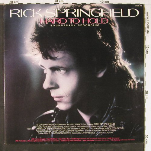 Springfield,Rick: Hard To Hold, Starcall(Star 308), US, 1984 - LP - E3941 - 3,00 Euro