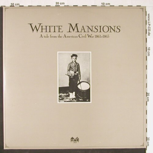 V.A.White Mansions: A Tale from the Amercan Civil War, AM(LX 64691), UK, 1978 - LP - E420 - 5,00 Euro