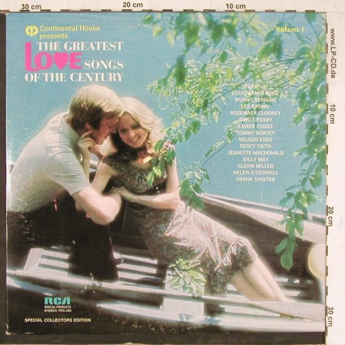 V.A.The Greatest Love Songs: Of Century, Vol.1, 12 Tr., RCA(PRS-382), US, 1971 - LP - E4247 - 5,00 Euro