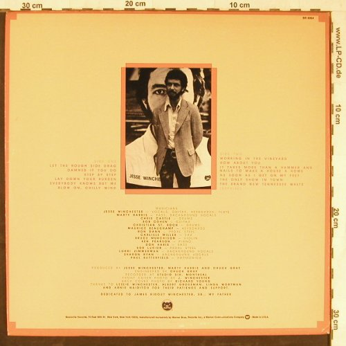 Winchester,Jesse: Let The Rough Side Drag, Bearsville(BR 6964), US, 1976 - LP - E4397 - 15,00 Euro