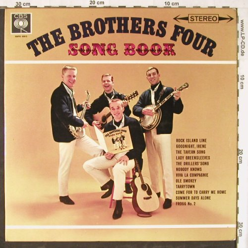 Brothers Four,The: Song Book'61, Ri, vg-/m-,(playable), CBS(SBPG 62012), UK,  - LP - E4402 - 4,00 Euro