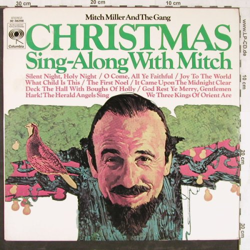 Miller,Mitch and the Gang: Christmas Sing-Along with Mitch, Columb.(3C 38298), US,  - LP - E4560 - 5,00 Euro