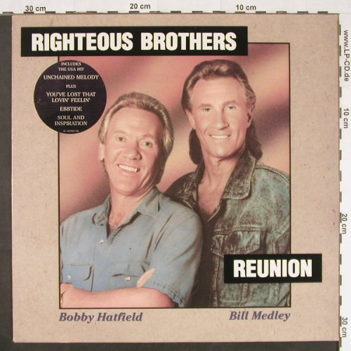 Righteous Brothers: Reunion, Curb(467957 1), NL, 1990 - LP - E467 - 5,00 Euro