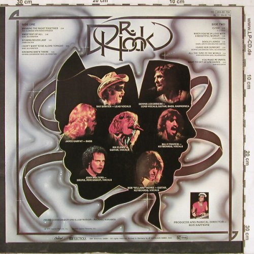 Dr.Hook: Pleasure & Pain, Capitol(064-85 759), NL, 1978 - LP - E4932 - 5,00 Euro