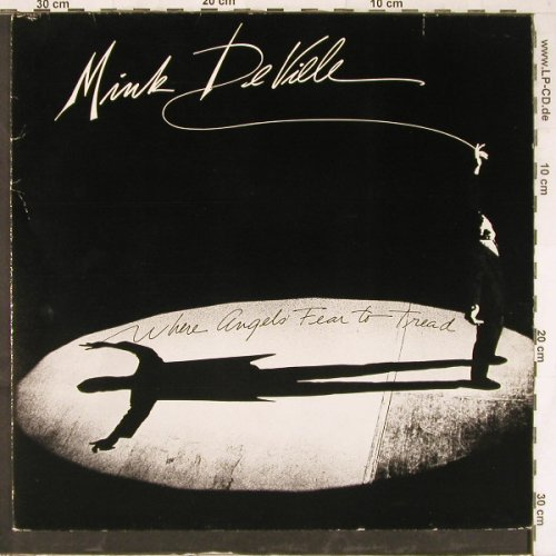 De Ville,Mink: Where Angels Fear To Tread, Atlantic(78-0115-1), D, 1983 - LP - E4943 - 5,00 Euro