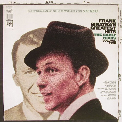 Sinatra,Frank: Greatest Hits-The Early Years 2, Columbia(CS 9372), US,FS-New,  - LP - E5847 - 12,50 Euro