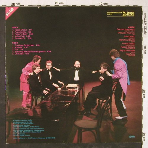 Crash: Something Beautiful but not Expensi, Ja&Ro Rec.(08-4115 EFA), D, 1983 - LP - E5977 - 4,00 Euro