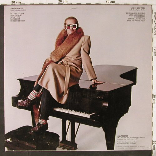 John,Elton: Here And There,co, MCA(MCA-2197), US, 1976 - LP - E6057 - 5,00 Euro