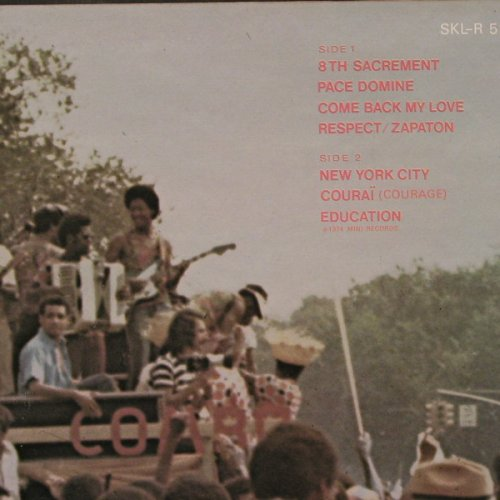 Tabou Combo: 8th Sacrement, Decca(SKL-R 5227), UK, 1974 - LP - E6231 - 7,50 Euro