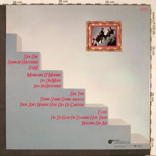 Wall Street Crash: Same, Foc, Magnet(064-64756), NL, 1982 - LP - E6286 - 4,00 Euro