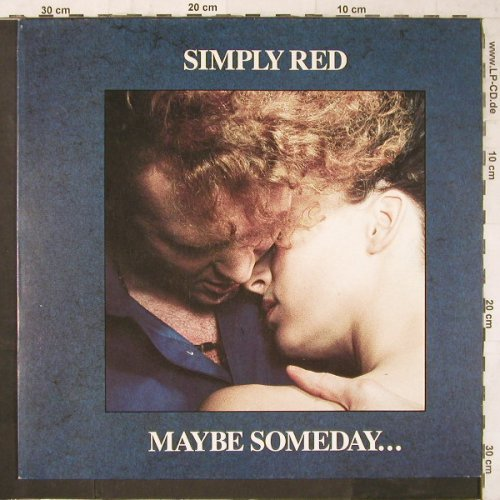 Simply Red: Maybe Someday..., Elektra(248 266-0), D, 1987 - 12inch - E6371 - 6,00 Euro