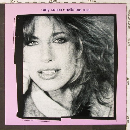 Simon,Carly: Hello Big Man, WB(92-3886-1), D, 1983 - LP - E6465 - 5,00 Euro
