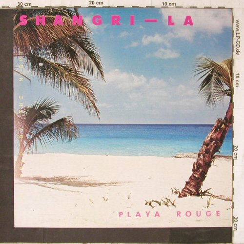 Shangri-La's: Playa Rouge/Blinded by the Night, Teldec(6.20659 AE), UK, 1986 - 12inch - E6513 - 4,00 Euro