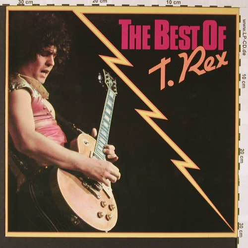 T.Rex: The Best Of, Ri, Cube(INT 136.318), D, 1980 - LP - E6889 - 5,00 Euro