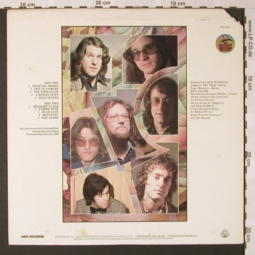 Werth,Howard & the Moonbeams: King Brilliant, co, Rocket Record Company(PIG-2180), UK, 1975 - LP - E7683 - 9,00 Euro