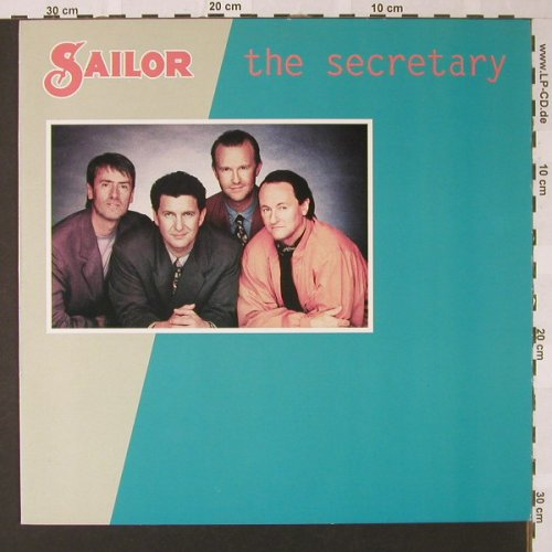 Sailor: The Secretary+2, BMG(PT 43988), D, 1990 - 12inch - E7836 - 1,50 Euro