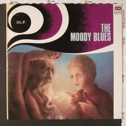 Moody Blues: Same,Foc, Deram(DA 159/160), UK,  - 2LP - E7878 - 7,50 Euro