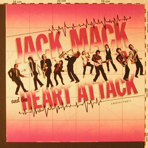 Mack,Jack & the Heart Attack: Cardiac Party, Full Moon(FM K 99252), D, 1982 - LP - E8360 - 6,00 Euro