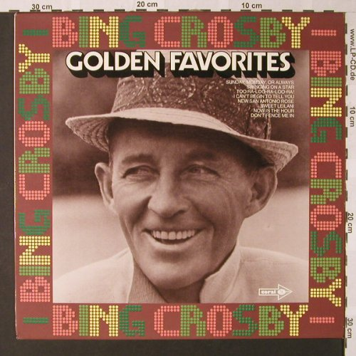 Crosby,Bing: Golden Favorites, MCA(COPS 6288), D, 1973 - LP - E8507 - 5,00 Euro