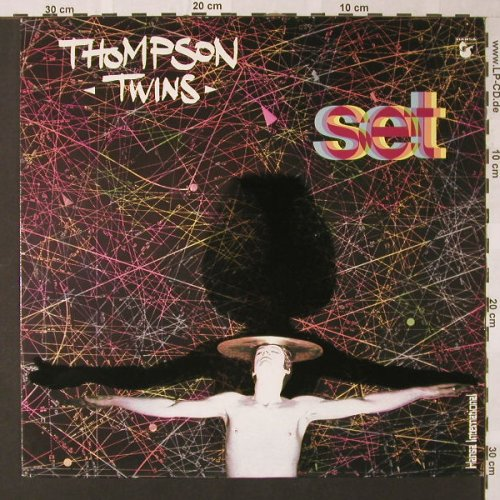 Thompson Twins: Set, m-/vg+, woc,Facts, Hansa(204 431-320), D, 1982 - LP - E8630 - 5,00 Euro