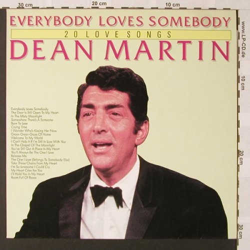 Martin,Dean: Everybody Loves Somebody, Ri, Laser(26024), ,  - LP - E9386 - 5,00 Euro