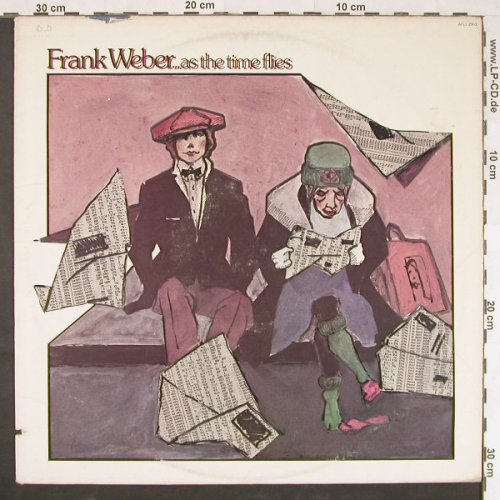 Weber,Frank: As The Time Flies,co, m-/vg+, RCA(AFL1-2963), US, 1978 - LP - E964 - 5,00 Euro