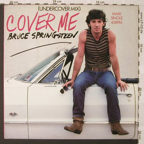 Springsteen,Bruce: Cover Me(Undercover Mix)*2+1, CBS(A 12.4662), NL, 1984 - 12inch - E9771 - 6,00 Euro