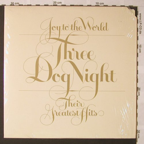Three Dog Night: Joy To The World-Their Greatest Hit, ABC(DSD-50178), US co, 1974 - LP - F112 - 6,00 Euro