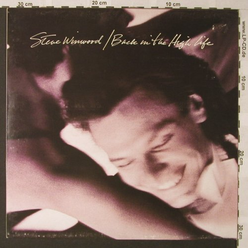 Winwood,Steve: Back In The High Life, vg+/m-, Island(), D, 1986 - LP - F116 - 3,00 Euro
