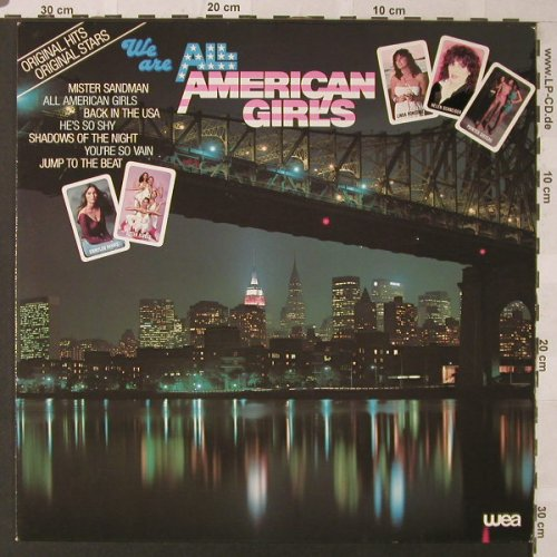 V.A.We Are All American Girls: Sister Sledge...Emmylou,Harris,16Tr, WEA(58315), D,m-/vg+, 1981 - LP - F128 - 3,00 Euro