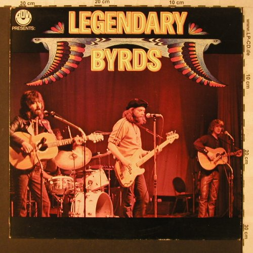 Byrds: Legendary Byrds, Govi/CBS(LSP 13 129), NL, 1975 - LP - F1515 - 6,00 Euro