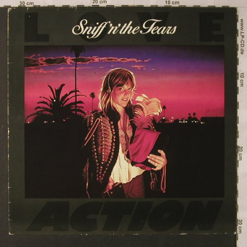 Sniff'n'The Tears: Love Action, m-/vg+, Chiswick(0067.076), D, 1981 - LP - F1555 - 4,00 Euro