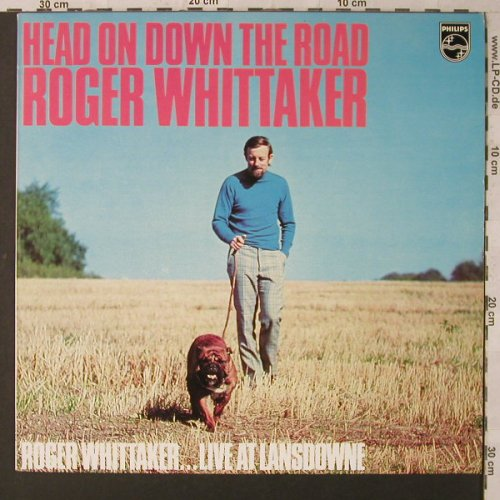 Whittaker,Roger: Heads On Down The Road-Live, Philips(6369 212), NL, 1973 - LP - F1769 - 6,50 Euro