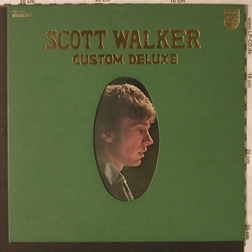 Walker,Scott: Custom Deluxe, Foc,vg-!/m-,bad cond, Philips(FD-45), J,  - LP - F2083 - 3,00 Euro
