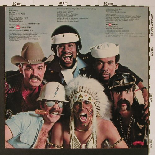 Village People: Go West, Casabl.(NBLP 7144), US, 1979 - LP - F2610 - 6,00 Euro